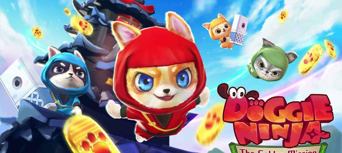 نقد و بررسی Doggie Ninja The Golden Mission
