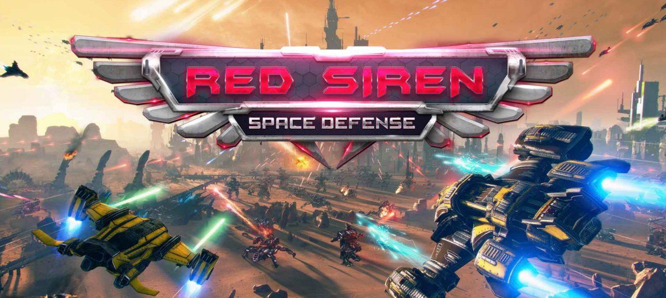نقد و بررسی Red Siren: Space Defense