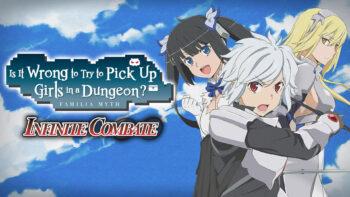نقد و بررسی Is It Wrong to Try to Pick Up Girls in a Dungeon? Familia Myth Infinite Combate